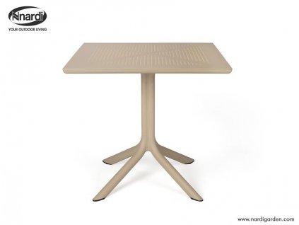 Stůl CLIP béžový světlý