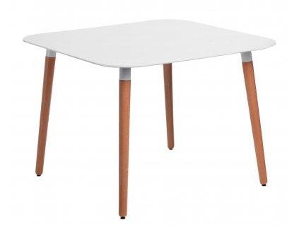 Stůl COPINE deska bílá 100x100 cm