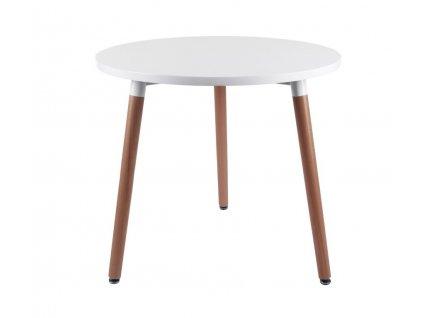 Stůl COPINE deska bílá 80 cm
