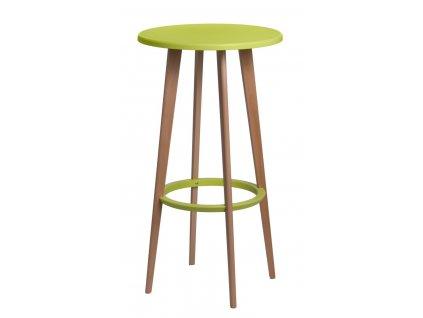 Stůl barový Lush zelený