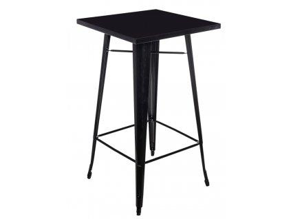 Stůl barový Paris černý