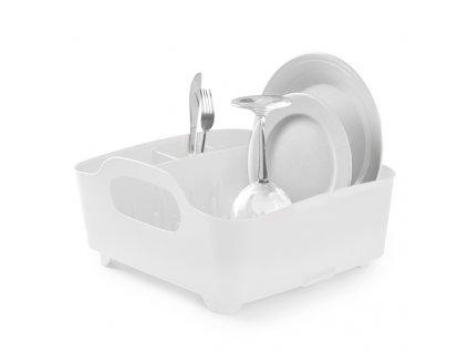 Sušák na nádobí Tube bílý