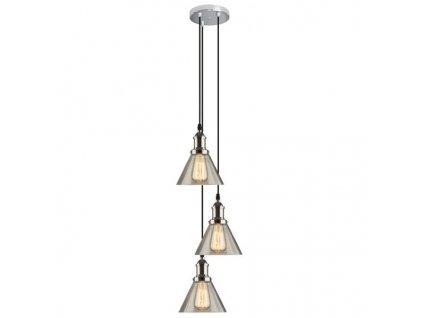 Lustr - Závěsná lampa New York Loft 1 CO
