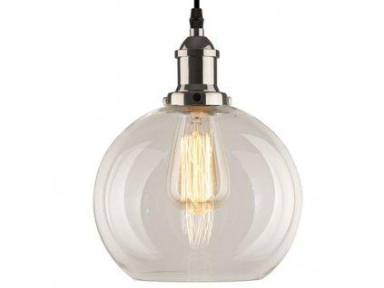 Lustr - závěsná lampa NEW YORK LOFT 2 chrom