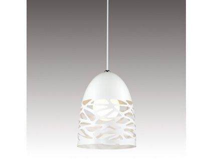 Lustr - Závěsná lampa Shadows 1 bílá