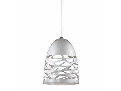 Lustr - závěsná lampa SHADOWS 1 šedá