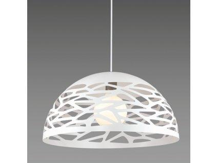 Lustr - závěsná lampa SHADOWS 2 bílá