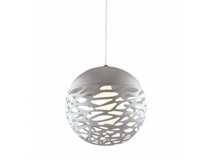 Lustr - závěsná lampa SHADOWS 3 šedá