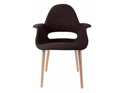 Židle A-SHAPE hnědá