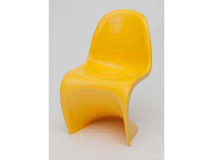 Židle BALANCE JUNIOR žlutá