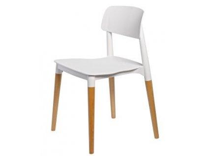 Židle BASE bílá