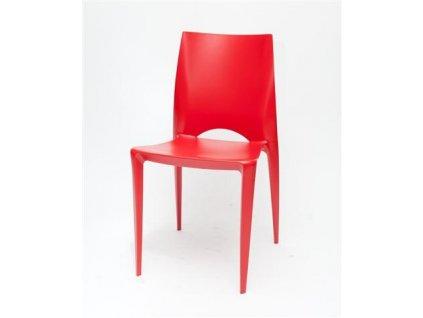 Židle BEE červená
