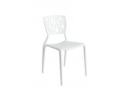 Židle BUSH bílá