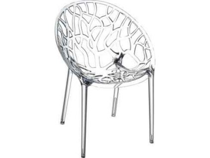Židle Coral transparent