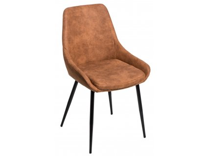 Židle FLOYD hnědá světlá