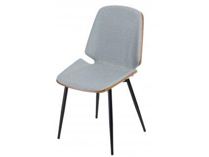 Židle Grant šedá světlá