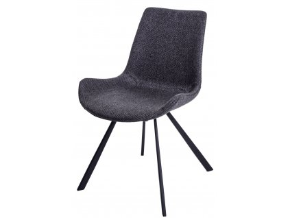 Židle JORDAN M tmavá šedá