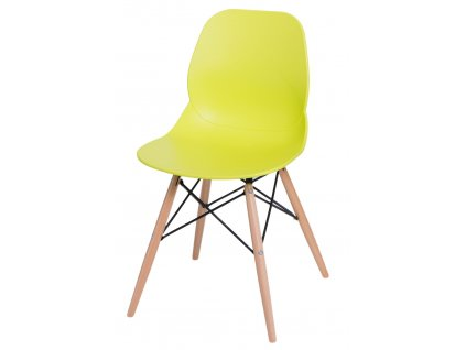 Židle LAYER dsw limetková