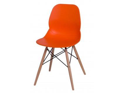 Židle LAYER dsw oranžová