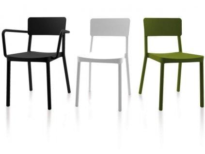 Židle LISBOA olivová