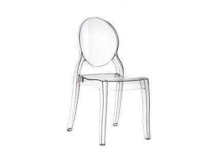Židle MIA transparent