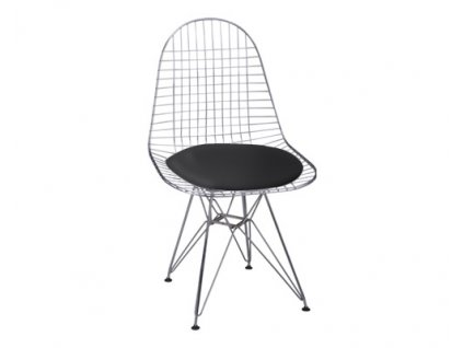 Židle NET černý samostatný polštář