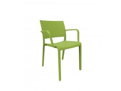 Židle New Fiona olivová
