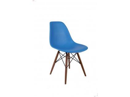Židle P016V pp modrá/tmavá
