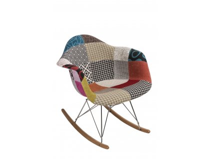 Židle P018 RAR patchwork barevná