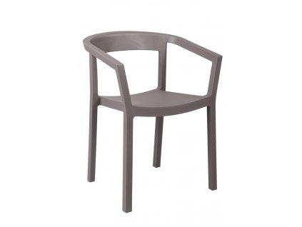 Židle Peach chocolate