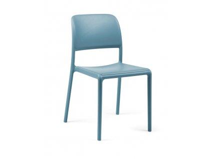 Židle Riva modrá