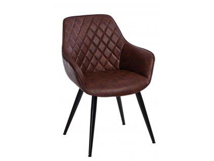 Židle Roxana hnědá
