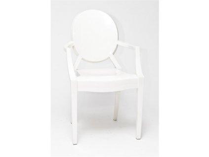 Židle Royal bílá