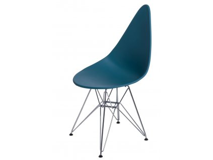Židle RUSH DSR navy zelená