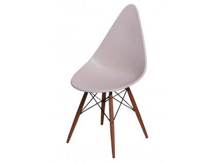 Židle Rush DSW béžová/tmavá