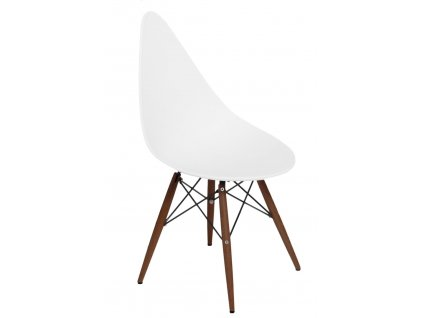 Židle Rush DSW bílá/tmavá