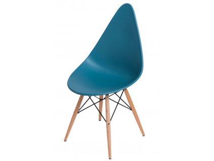 Židle RUSH DSW navy zelená