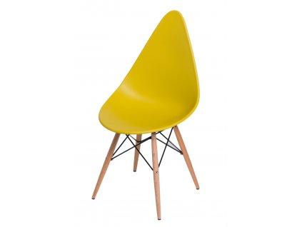 Židle Rush DSW olivová