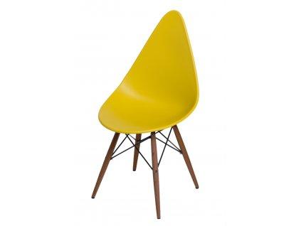 Židle RUSH DSW olivová/tmavá