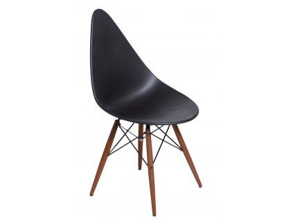 Židle RUSH DSW černá/tmavá