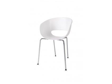Židle SHELL bílá