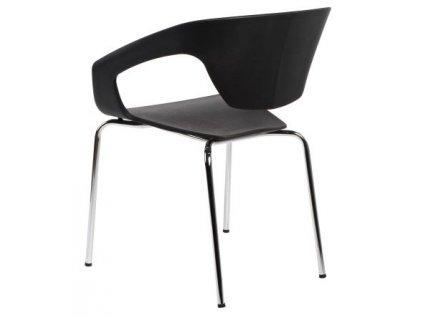 Židle SPACE černá