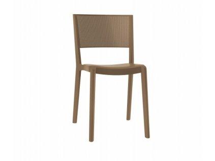 Židle Spot hnědá