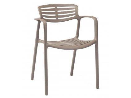 Židle Toledo Aire hnědá