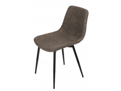 Židle Vigo hnědá