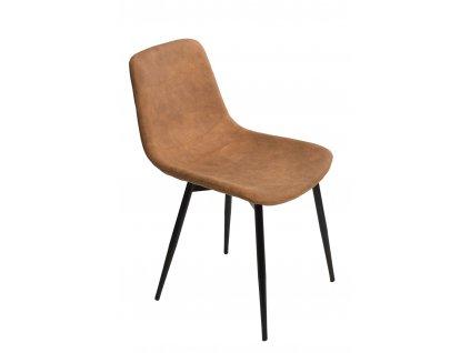 Židle Vigo hnědá světlá