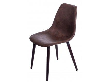 Židle Vincent V světlá hnědá