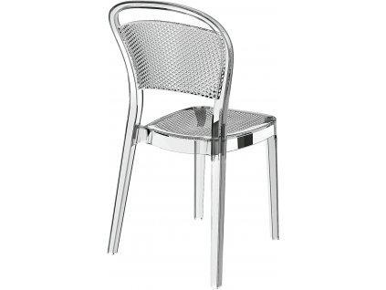 Židle Visual transparentní