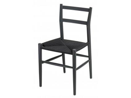 Židle Wiggy grafitová