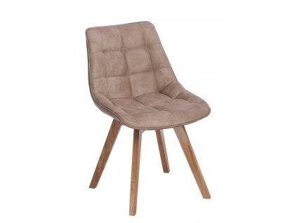 Židle WOODY béžová